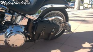 Sacoche PU Harley Softail Fat boy SO0PUNG 3
